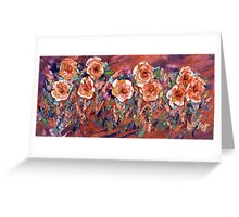STAR SPANGLED FLOWERS,  9/11 Series Greeting Card