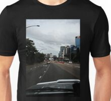 Driving in The City Unisex T-Shirt