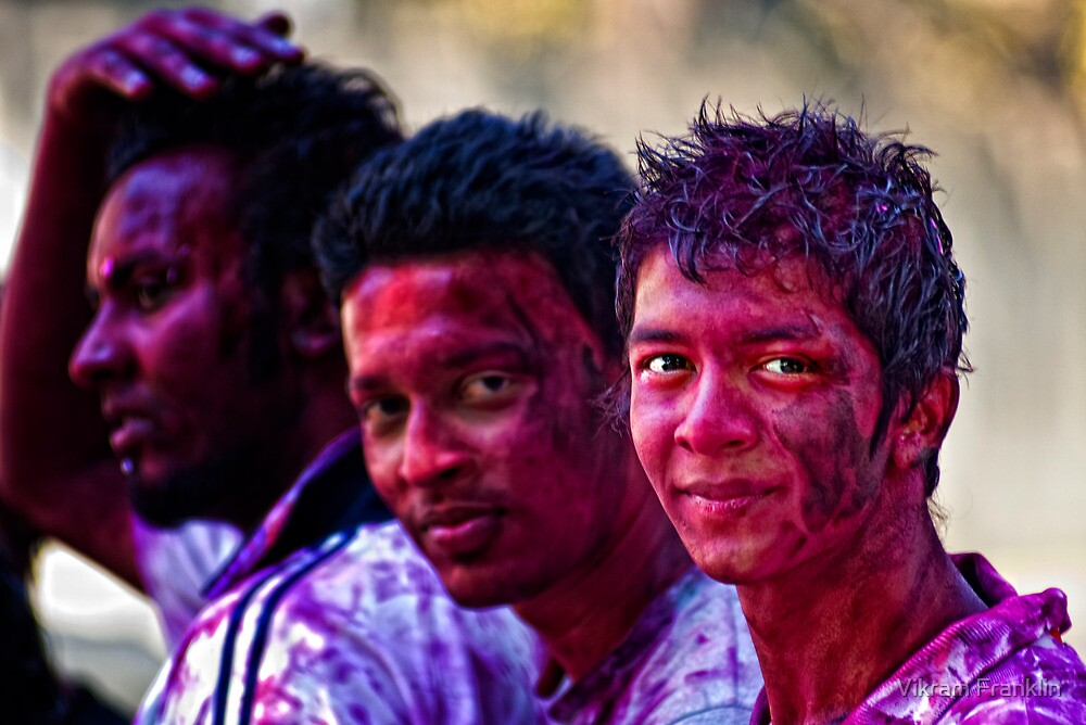 Holi Colours!! by Vikram Franklin