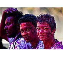 Holi Colours!! Photographic Print
