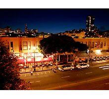 San Francisco Nighttime Cityscape Photographic Print