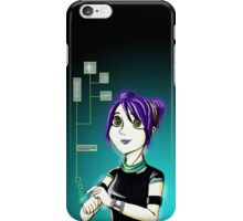 Sci-Fi Girl iPhone Case/Skin