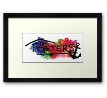 The Fosters : I need an anchor Framed Print
