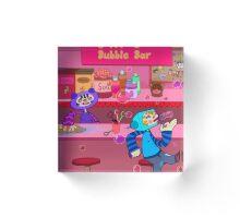 Bubble Bar Acrylic Block
