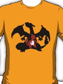 Charmander - Charmeleon - Charizard Evolution T-Shirt
