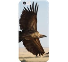In Flight: White-backed Vulture iPhone Case/Skin
