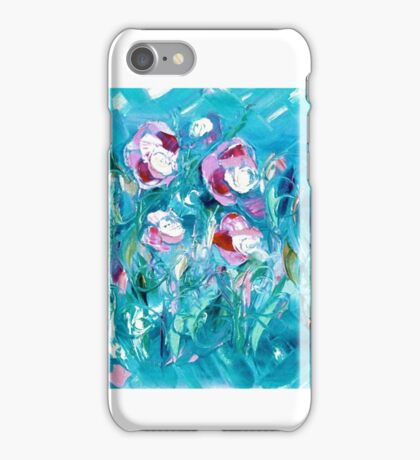 WATER FLOWERS FOR NEIL,  by Janai-Ami iPhone Case/Skin