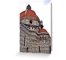The Florentine Duomo Greeting Card