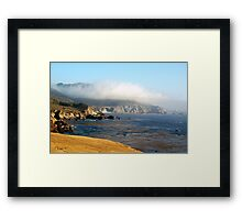 Coastal Gold Framed Print