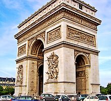 The Arc de Triomphe by Cody McKibben