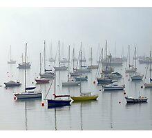 Misty Yachts Photographic Print
