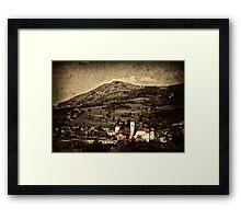 My little town Framed Print