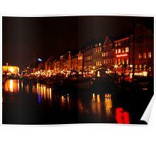 Nyhavn Night Poster