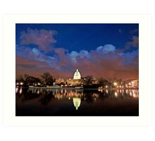 Washington, D.C., Nightscape Art Print