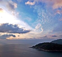 Sunset in Phuket by Cody McKibben
