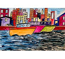 Tugboats Online Photographic Print