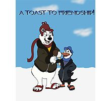 A Toast To Friendship! Photographic Print