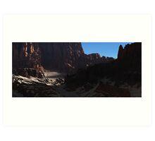 Desert passage Art Print