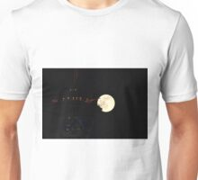 Full Moon & Stratosphere Tower Unisex T-Shirt