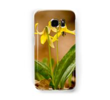 Dogs Tooth Lily - Erythronium Samsung Galaxy Case/Skin