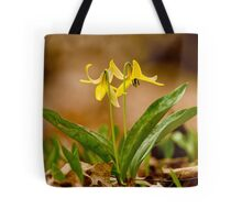 Dogs Tooth Lily - Erythronium Tote Bag