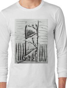 Virtual door Long Sleeve T-Shirt