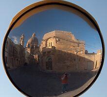 Xewkija Streetscape Gozo - the way I saw it. by Patrick Anastasi