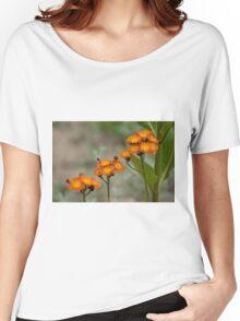 Orange Hawkweed Women's Relaxed Fit T-Shirt