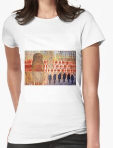 Suburban Womens Fitted T-Shirt
