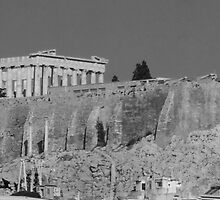 The Acropolis by Rosemary Sobiera