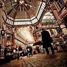 The Leadenhall Market by Frank Waechter