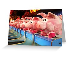 Bay Of Pigs Greeting Card