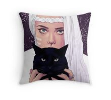 She had Stars in Her Eyes Throw Pillow