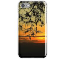 Sunset at Ngorongoro Crater Sth Africa iPhone Case/Skin
