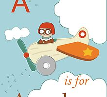 A is for Aeroplane by KathrinLegg