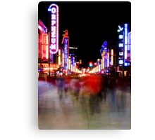 Redlight District  Canvas Print