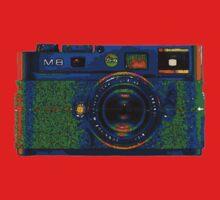 Leica M8 on acid Kids Tee