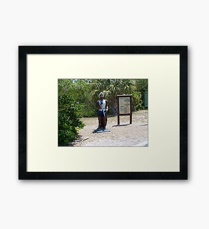 Nature and History Framed Print