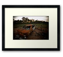 Common sight in uncommon areas Framed Print