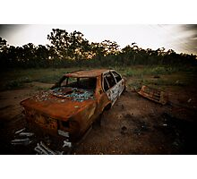 Common sight in uncommon areas Photographic Print