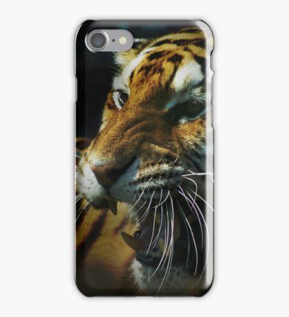 Snarling Tiger  iPhone Case/Skin