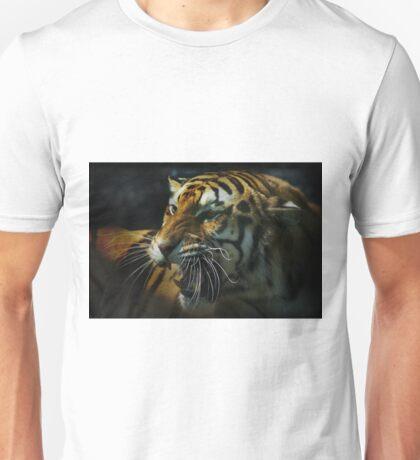 Snarling Tiger  Unisex T-Shirt