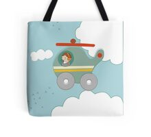 H is for Helicopter Tote Bag