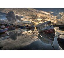 Sunk Photographic Print