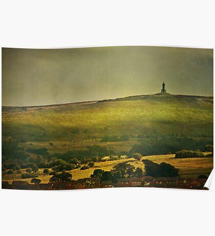 Lancashire Landscape Poster