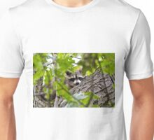 Sleeping Raccoon Unisex T-Shirt