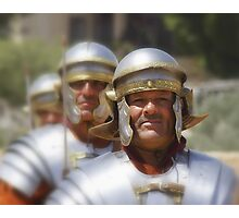 Gladiators in Jordan Photographic Print
