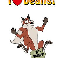 I Love Beans! by madmanmike1980