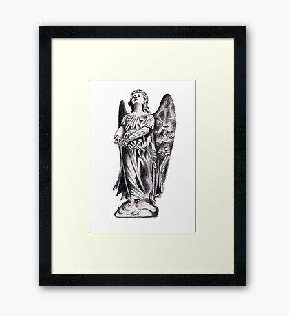 SERAPH Framed Print