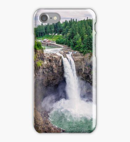 Snoqualmie Falls, Washington iPhone Case/Skin